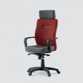 mehroon back executive office chair