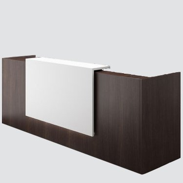 Modern reception desk is Designed exclusively to save space and Ideal for transacting business or welcoming guests.