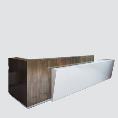 RC-006 contemporary reception counter is minimalist in design but maximum in effect. The eye-catching smooth, clean lines and simplistic layout help create that all-important positive and professional first impression