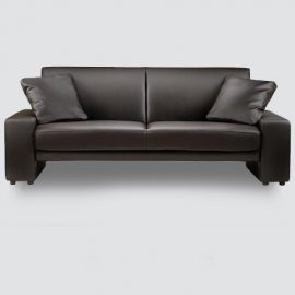 This two-seater sofa takes up a little space and offers simple lines to decorates any room whether classic or modern