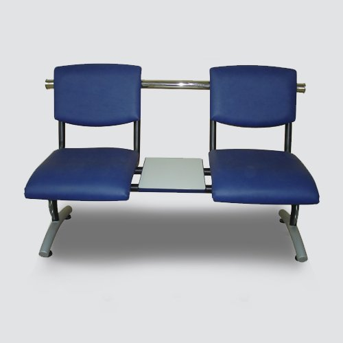 The lower part on the bench is assemble With High-Strength Steel, Anti-Rust Craft & High Stability With Back Rail. The Seat Is Padded With Good Foam For Cozy Seating.