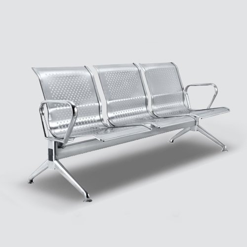 Durable Waiting bench constructed with Stainless Steel with Stylish and economical.