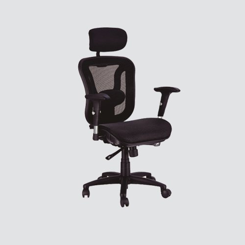 Provide comfortable support for your back with the help of this Black Bonded Leather Executive Office Chair