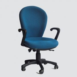 Our new computer chair designed for our customers that lasts long and thickly cushioned for maximum comfort.