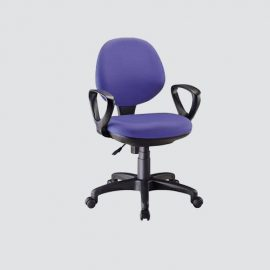 computer chair with high back and large seat with imported fabric and adjustable height