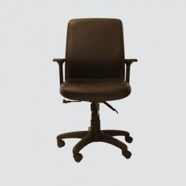 This chair has High-quality material with real leather is easy to clean with high back support and comfort.