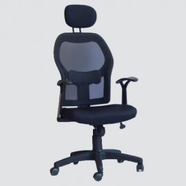 This office chair features a well padded backrest and seat cushion that will help in improve your posture.